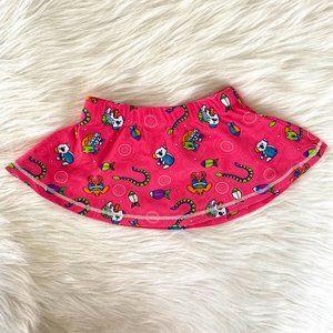 Banz Little Girls Pink UPF 50+ Swim Skirt Sz 6